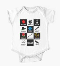 OUAT T-Shirt. Regina, Emma, Hook, Zelena, Snow, Henry, Belle, Charming, Rumple, Robin, Red One Piece - Short Sleeve