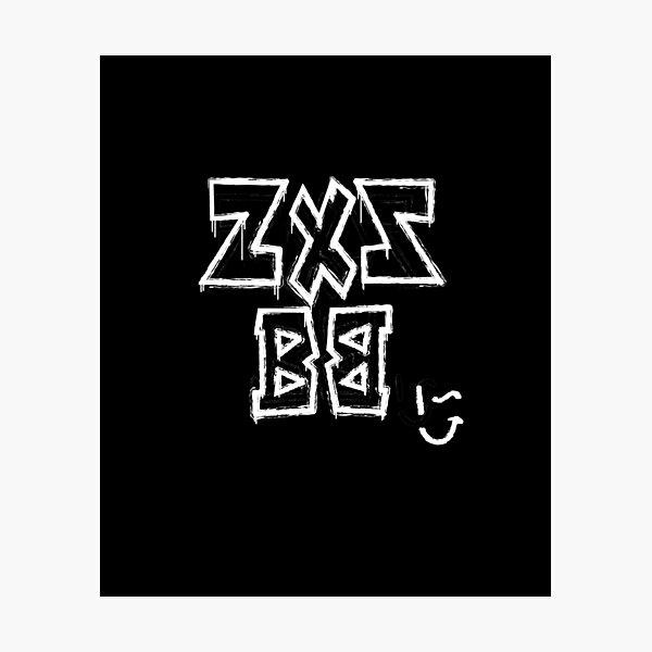 Zxz Bb Wink Sweatshirt Photographic Print