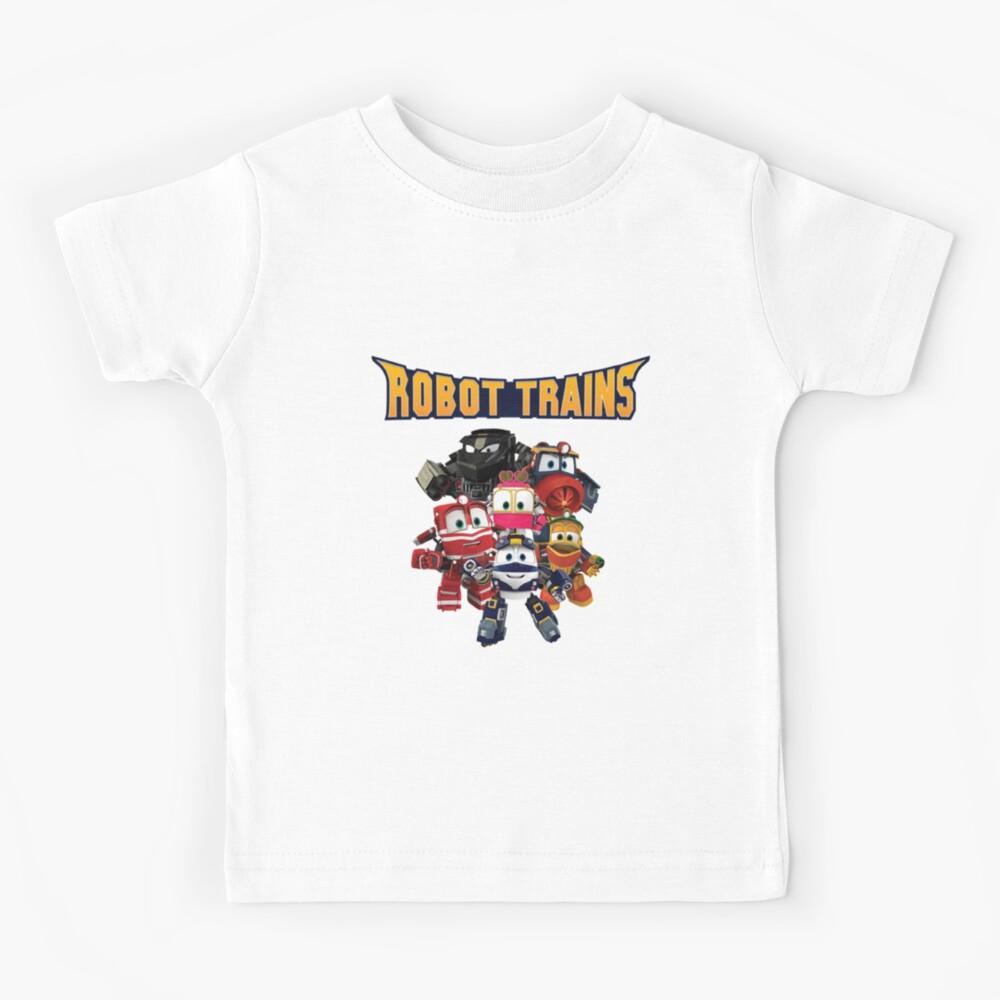 Robot Trains Cartoon show kids Kids T-Shirt