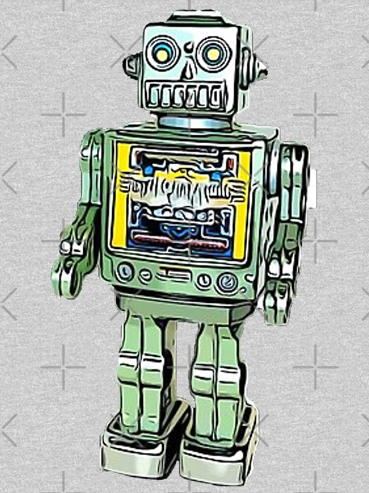 Toy Robot by Artyteeslondon