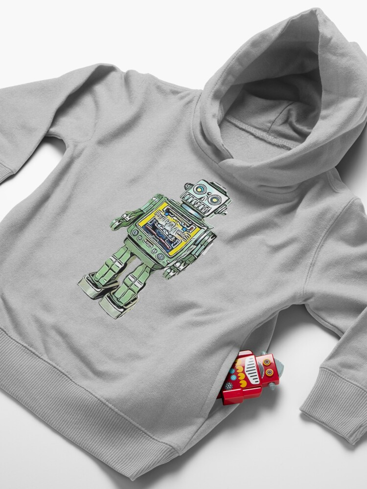 Alternate view of Toy Robot Toddler Pullover Hoodie