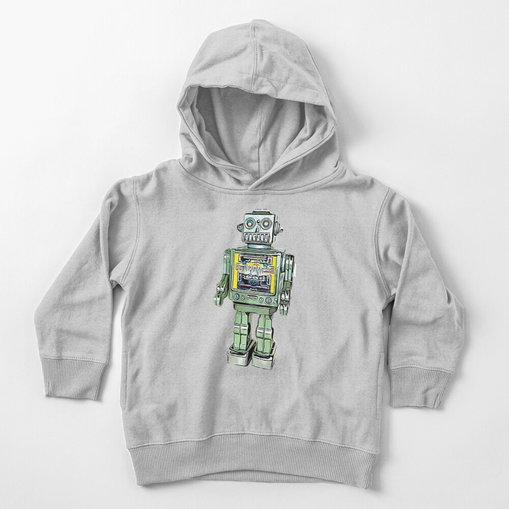 Toy Robot Toddler Pullover Hoodie