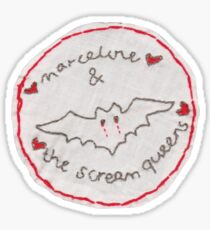 Marceline and the Scream Queens Patch Sticker