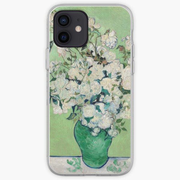 Van Gogh, Roses, 1890 iPhone Soft Case