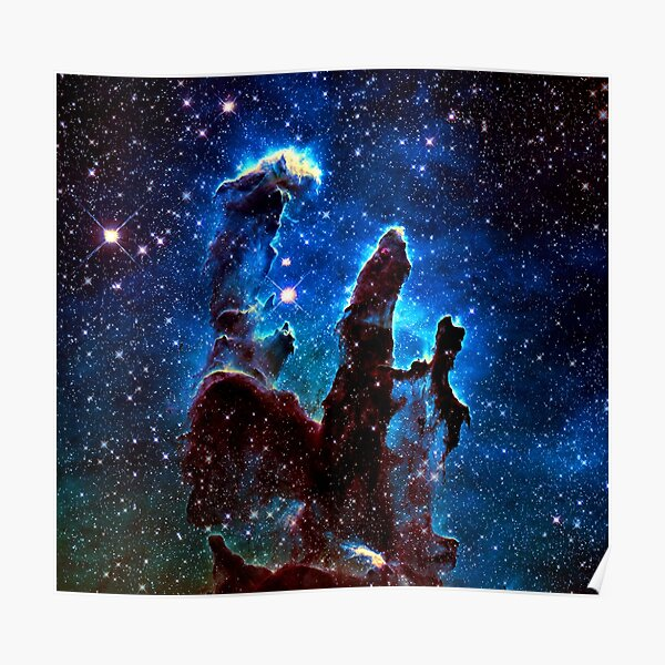 The Pillars of Creation, Enhanced Poster