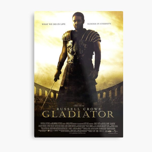 Gladiator Lámina metálica