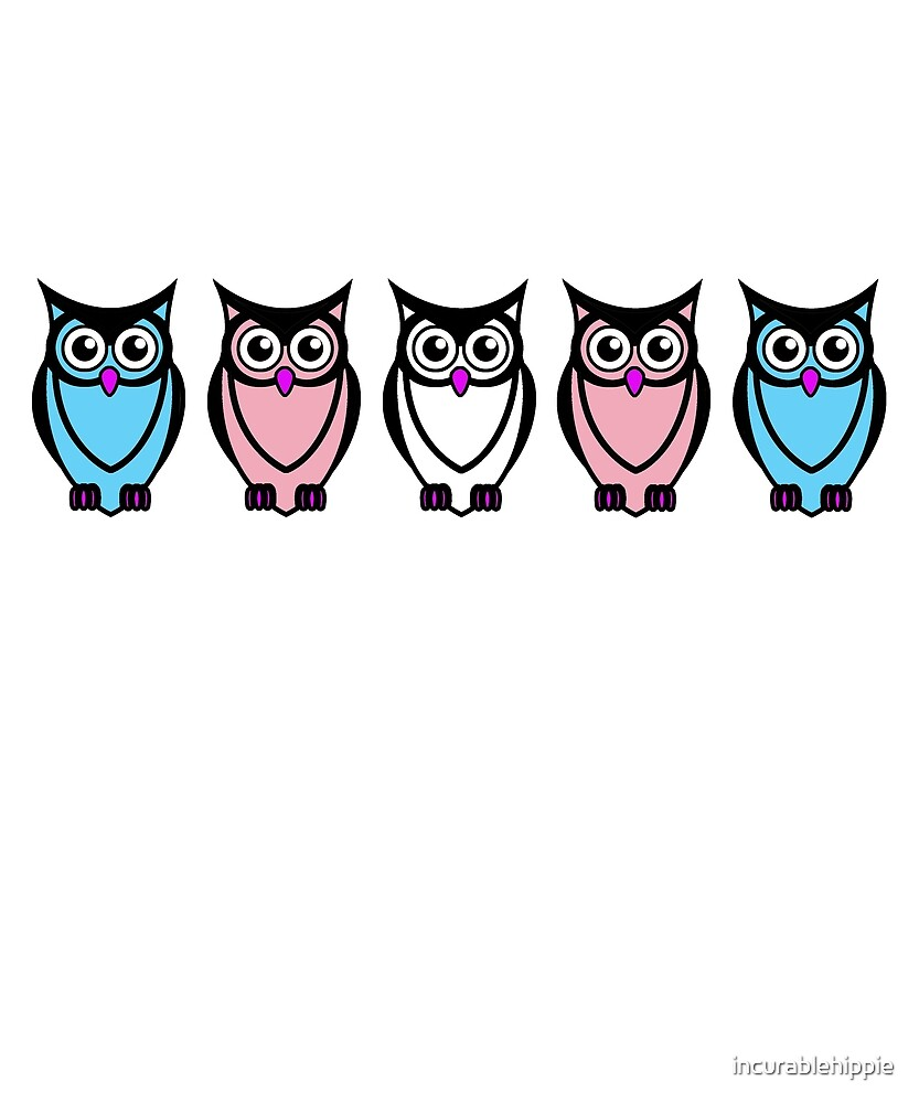 Trans owls LGBT trans rights by incurablehippie