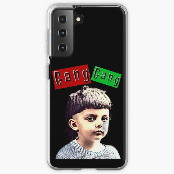Young Theo - Gang Gang (black background) Samsung Galaxy Soft Case