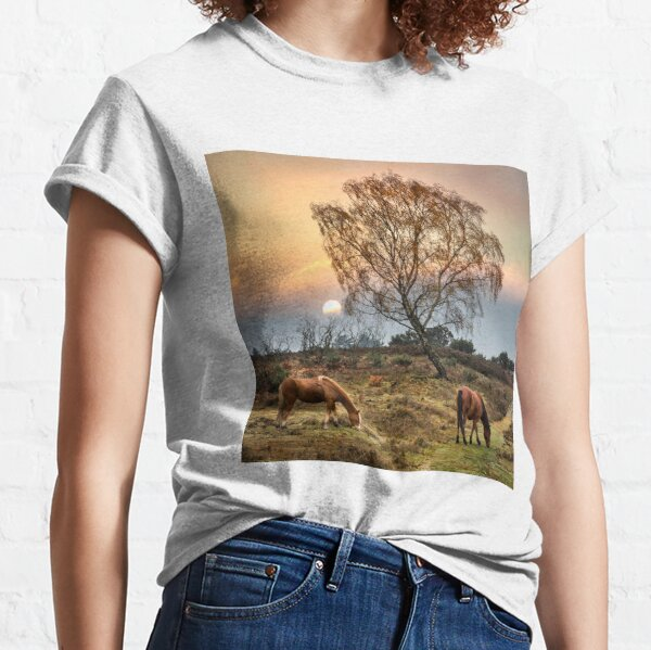New Forest Ponies Classic T-Shirt