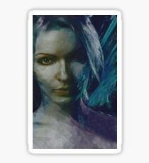 Luminesce Emotive Portrait Sticker