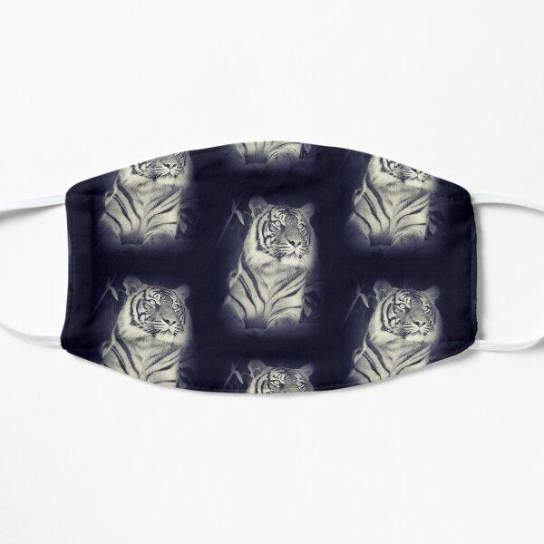 Black & White Sumatran Tiger Mask