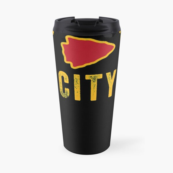 KC Kansas City Red Arrowhead Cool Ultimate Kc Fan Kingdom Travel Mug