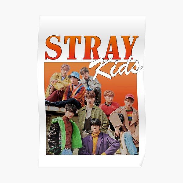 StrayKids Vintage Póster