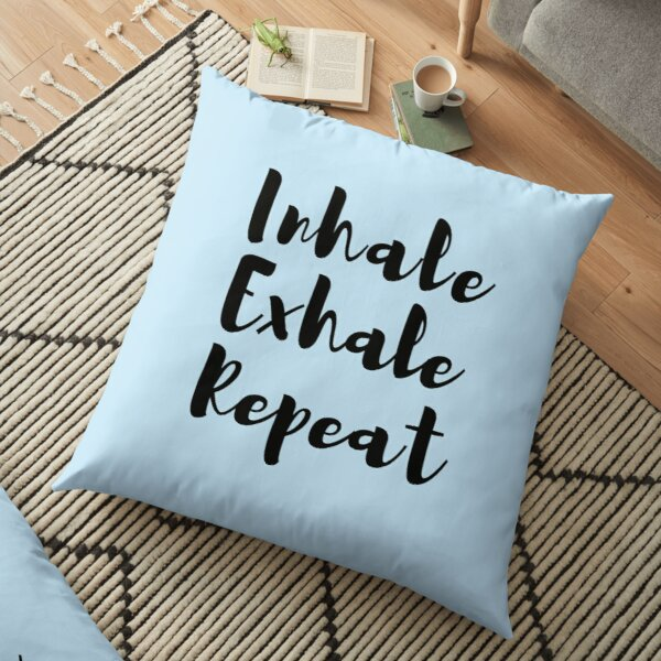 Meditation Quote Pillows Cushions Redbubble