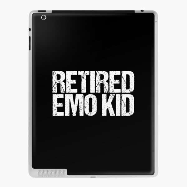 Retired Emo Kid iPad Skin