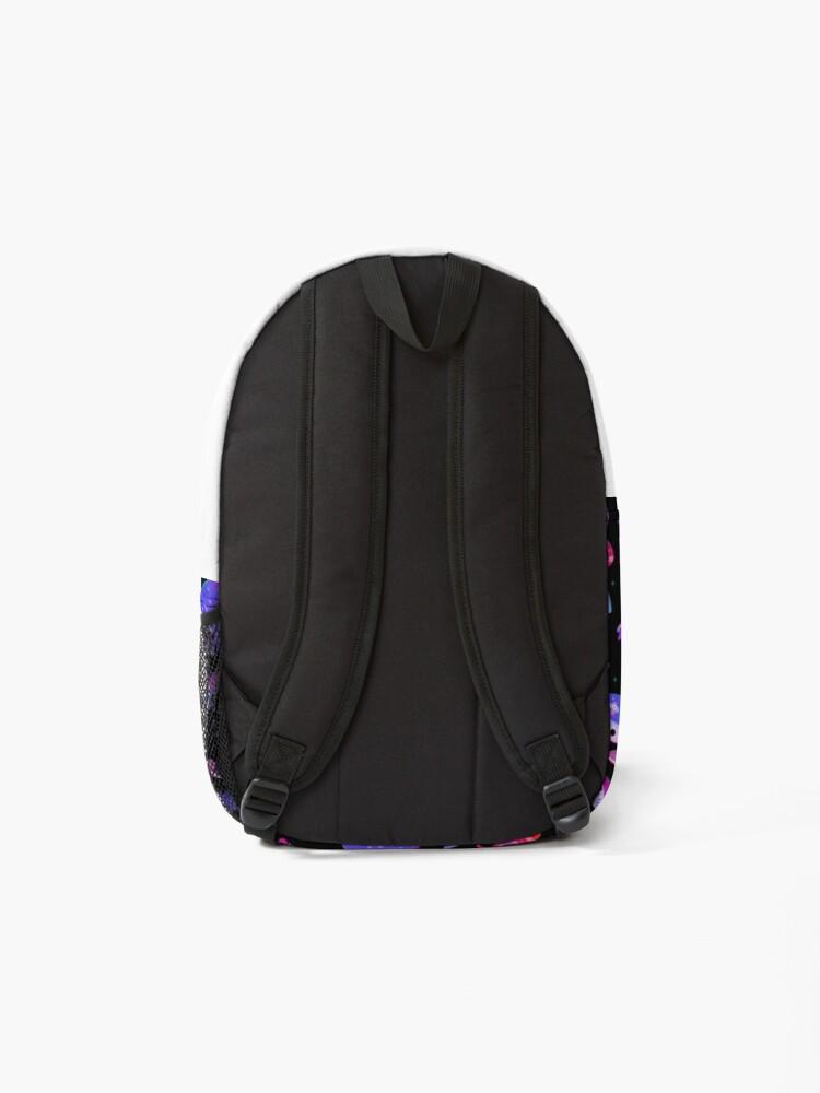 Alternate view of Stabby marine life Backpack
