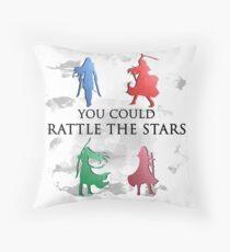 Throne of Glass Watercolour Throw Pillow