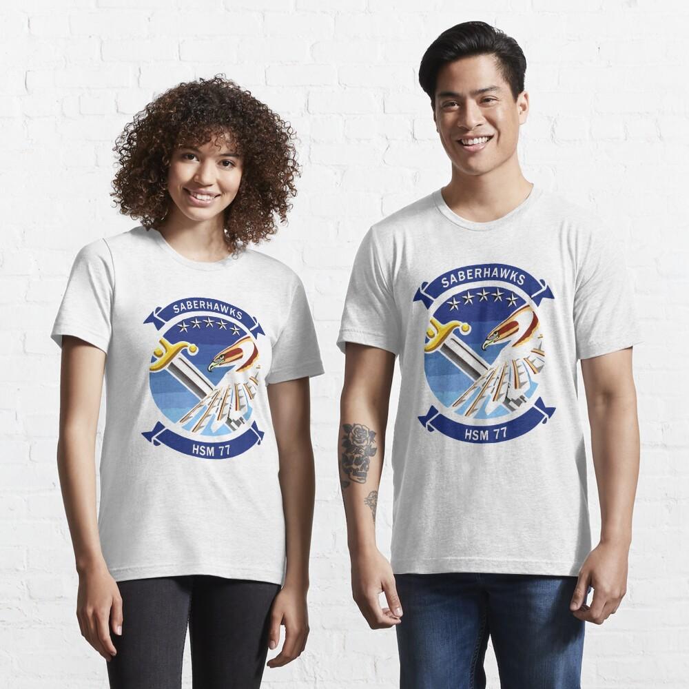 Model 50 - HSM77 - SaberHawks Essential T-Shirt