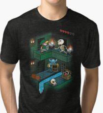 Through the dungeon Tri-blend T-Shirt