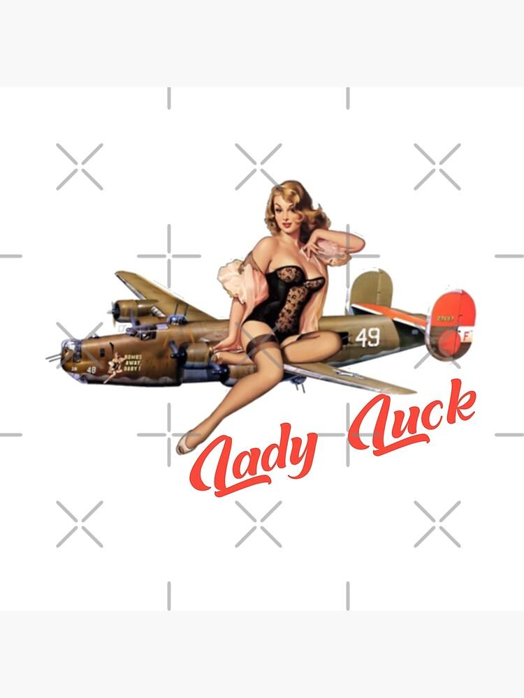 Lady Luck Pin Up Rockabilly design by BlackRain1977