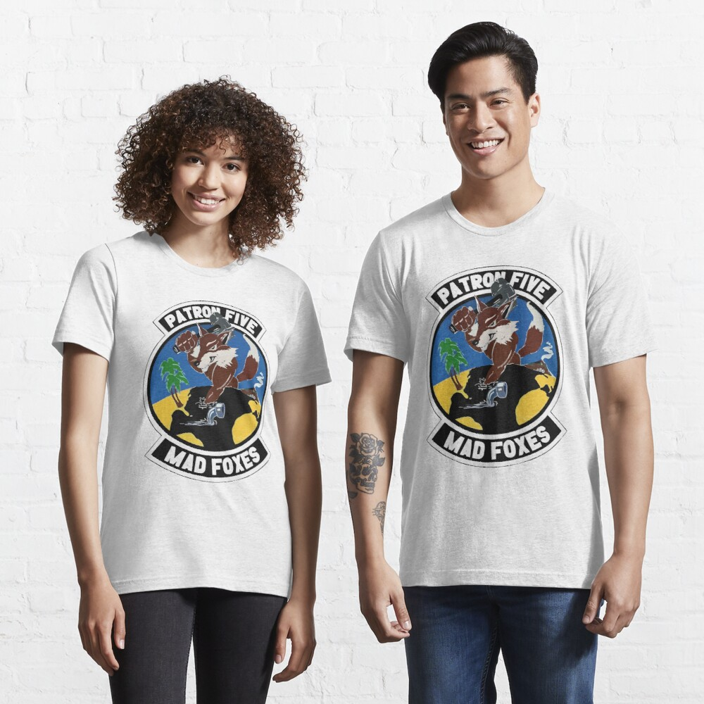 Model 49 - Patrol Squadron FIVE (VP-5) - Mad Foxes Essential T-Shirt