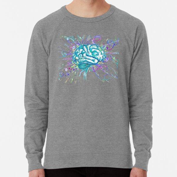 Beautiful Neurodivergent Brain Lightweight Sweatshirt