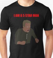 I am a 5 star man Unisex T-Shirt