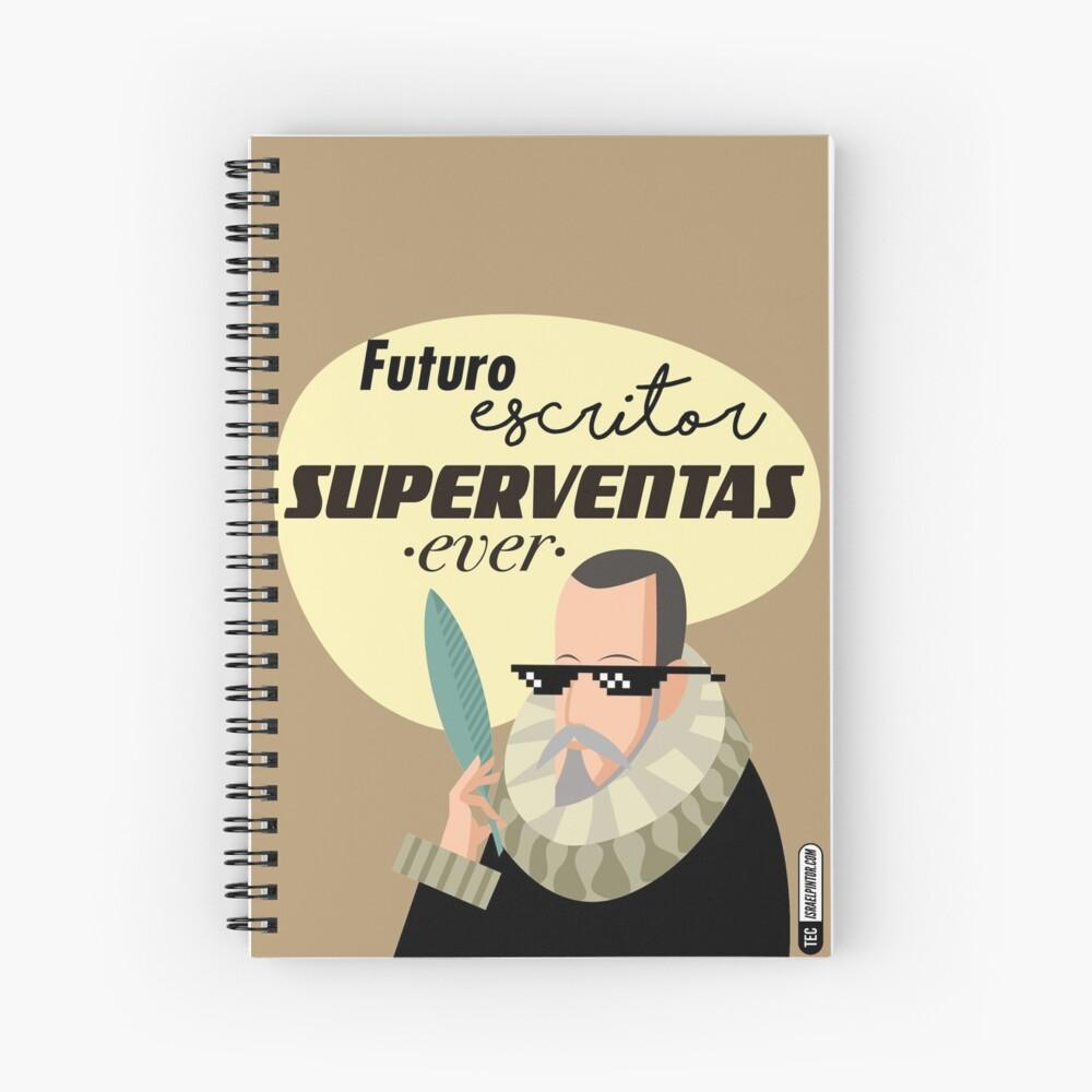 Futuro escritor superventas ever Cuaderno de espiral