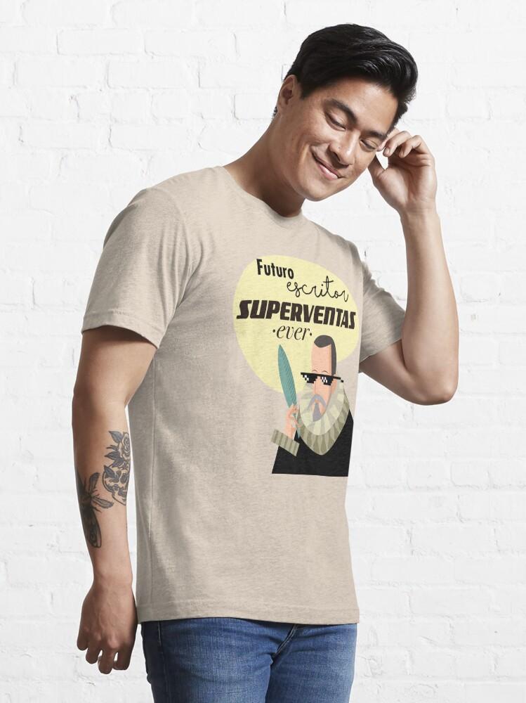 Vista alternativa de Camiseta esencial Futuro escritor superventas ever