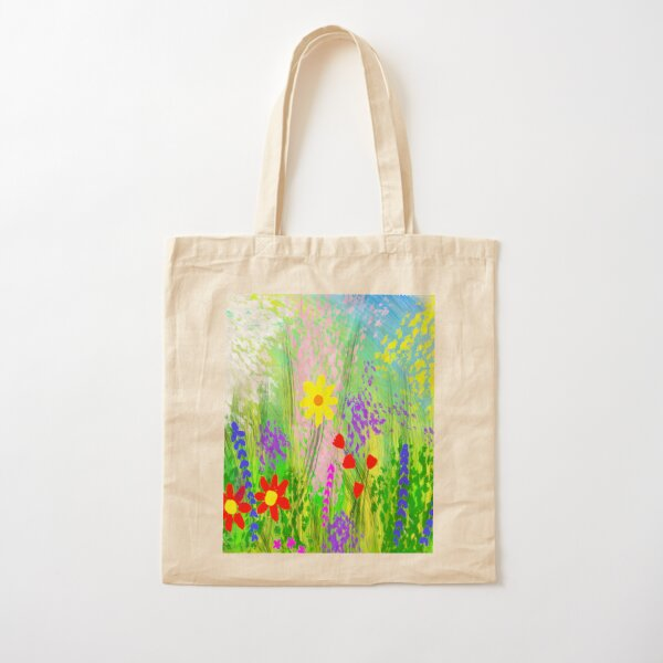 Spring flowers Cotton Tote Bag