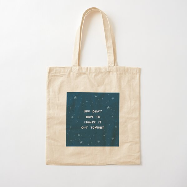 Figuring it Out Cotton Tote Bag