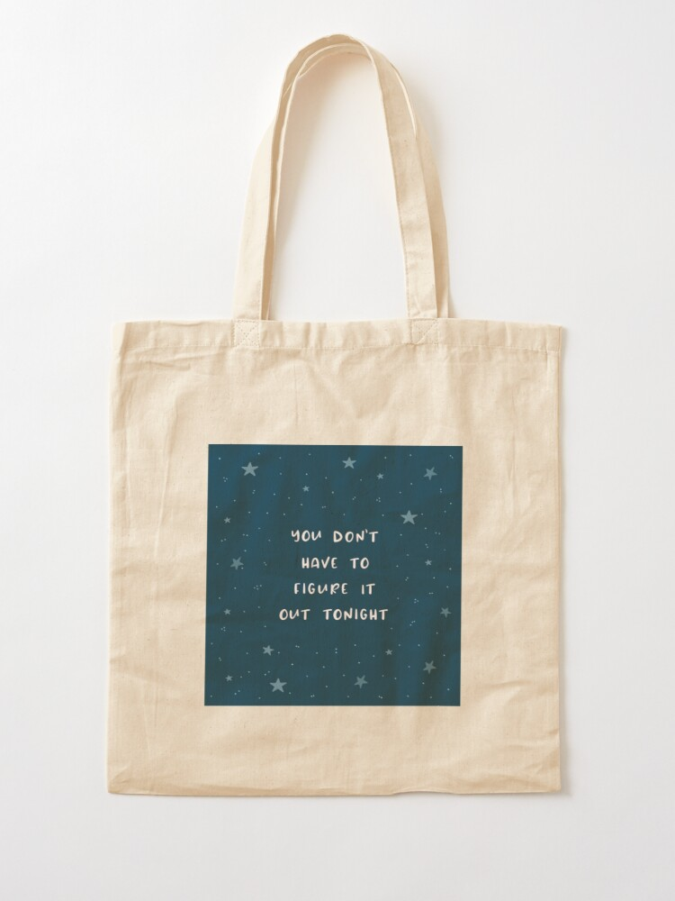 Alternate view of Figuring it Out Tote Bag