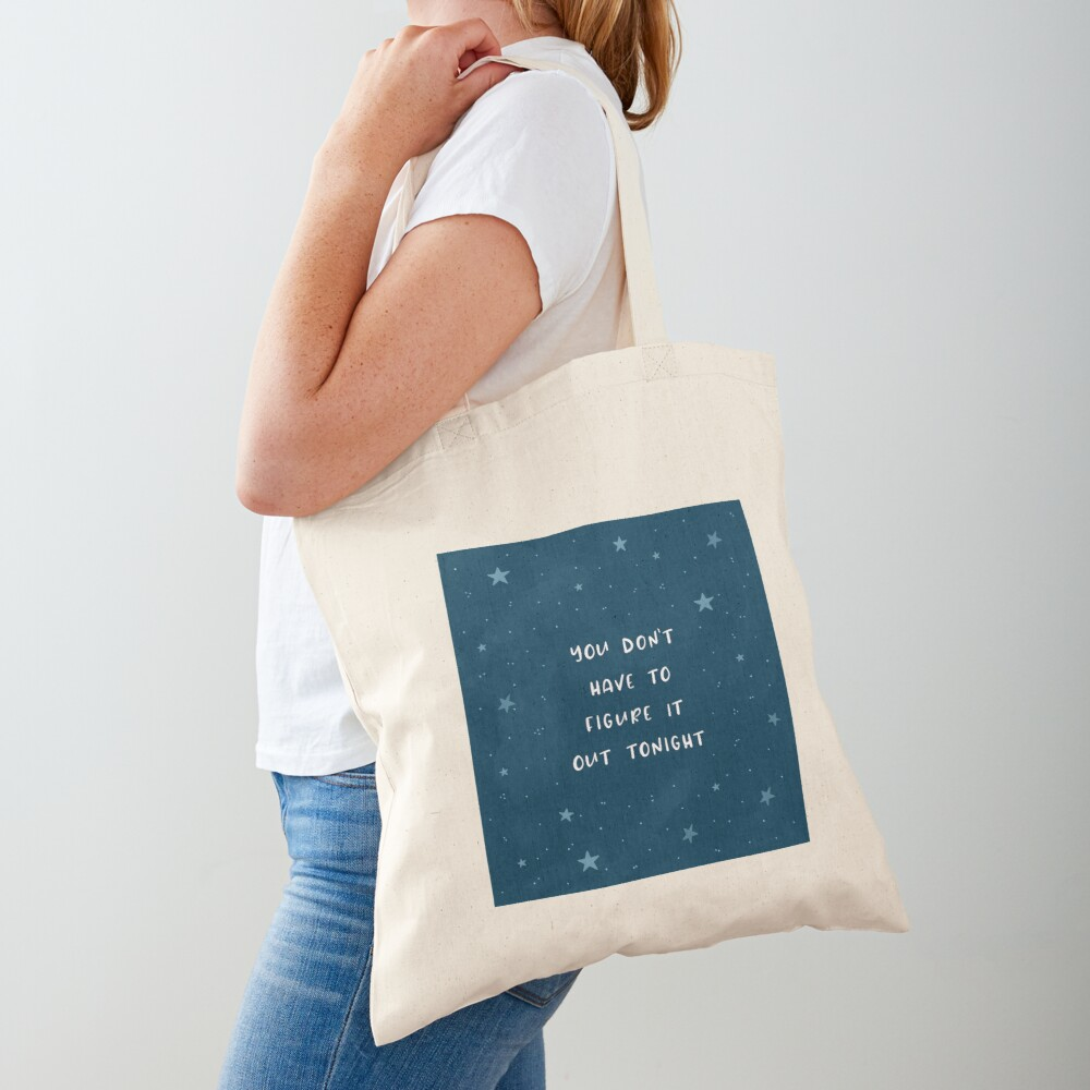 Figuring it Out Tote Bag