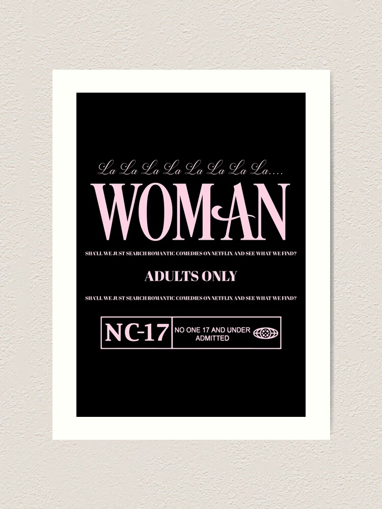 Alternate view of WOMAN Art Print