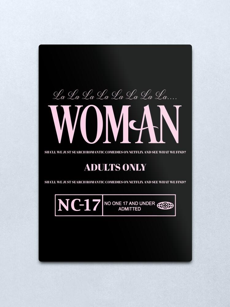 Alternate view of WOMAN Metal Print