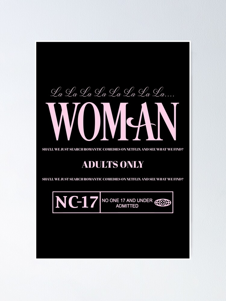 Alternate view of WOMAN Poster