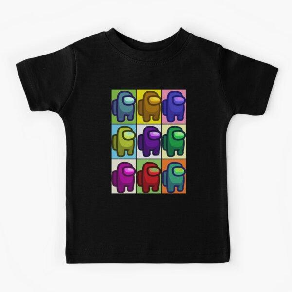 Among Us Popart Kids T-Shirt