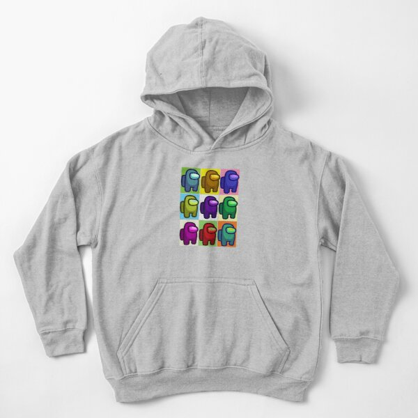 Among Us Popart Kids Pullover Hoodie