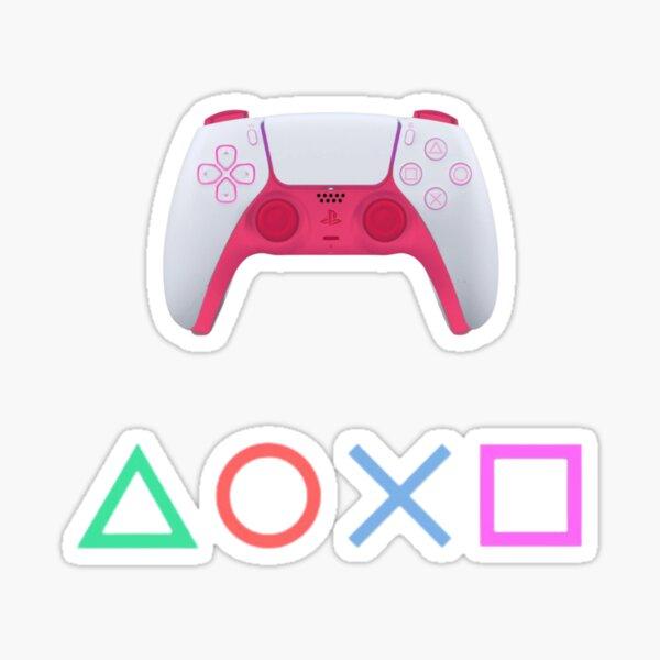 PlayStation - Dual Sense - rose Sticker