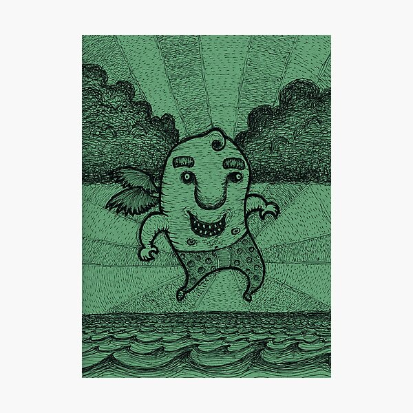 Fly Guy Photographic Print