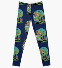 THE MYSTERY MACHINE Leggings