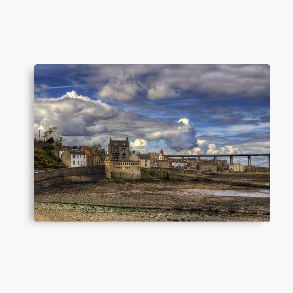 Nubes sobre South Queensferry Lienzo