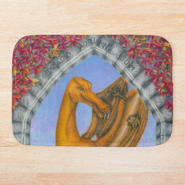 Autumn Dragon Bath Mat