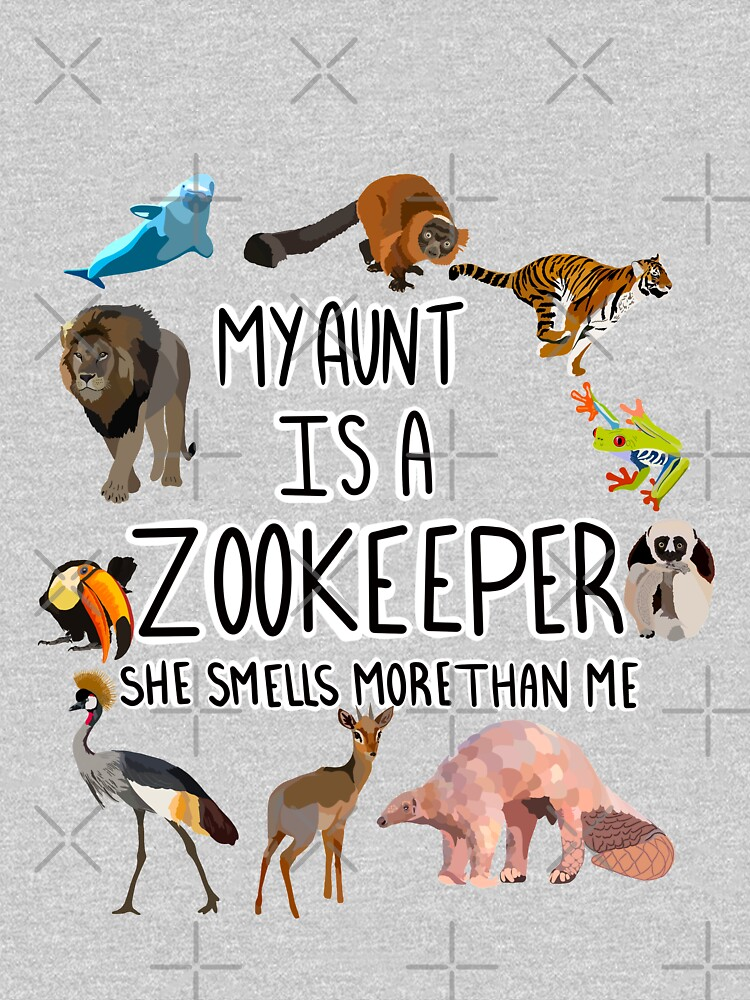 My aunt is a zookeeper  by thezoogirl