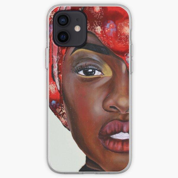 Crimson iPhone Soft Case