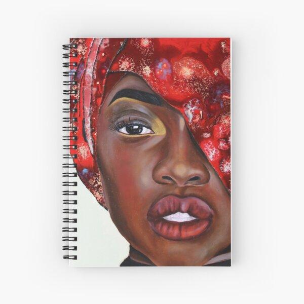 Crimson Spiral Notebook