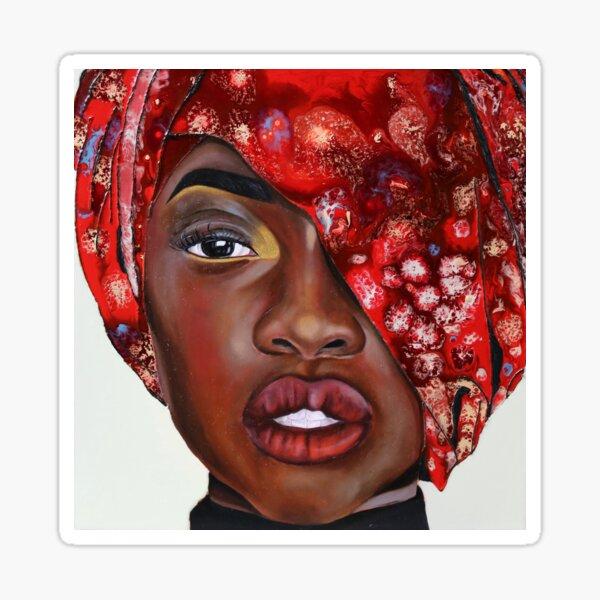 Crimson Sticker