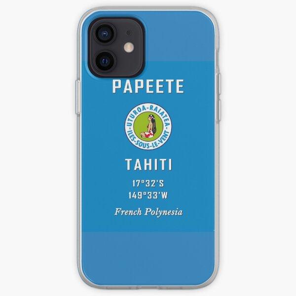 Bora Bora Tahiti Papeete Moorea Polynésie Pacifique Surf France Coque souple iPhone