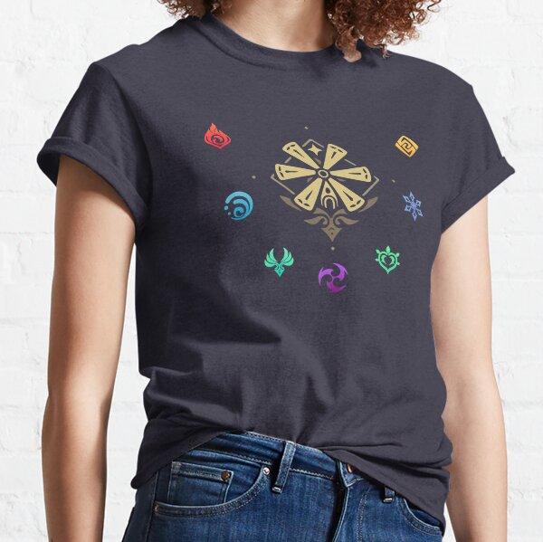 Genshin impact elements impact Classic T-Shirt