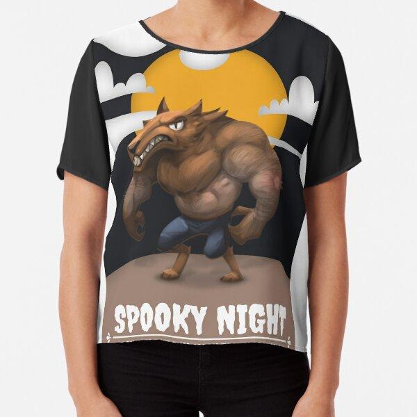 Halloween Specials Chiffon Top